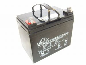 Leoch AGM-34-MOB - 12volt 34ah Rechargeable AGM Battery